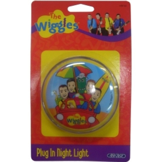 Plug-In Neon Night Light - The Wiggles