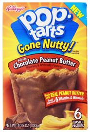 Pop-Tarts Gone Nutty Chocolate Peanut Butter