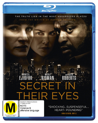 The Secret In Their Eyes on Blu-ray
