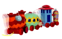 In the Night Garden: Ninky Nonk Pull Along Wobble Train
