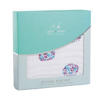 Aden + Anais: Classic Stroller Blankets - Thistle