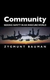 Community by Zygmunt Bauman