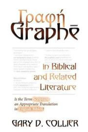 Graphe in Biblical and Related Literature by Dr Gary D Collier image