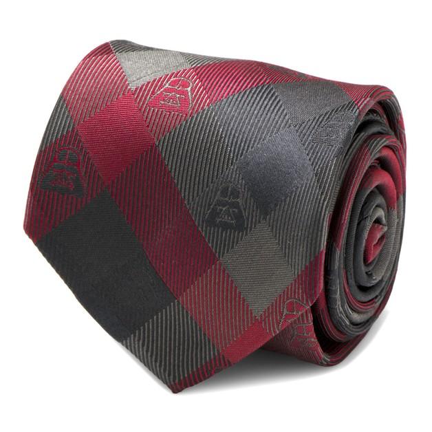 Star Wars: Darth Vader (Red) - Modern Plaid Tie