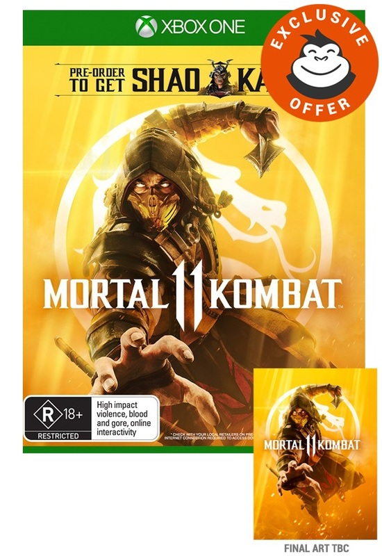 Mortal Kombat 11 Steelbook Edition for Xbox One