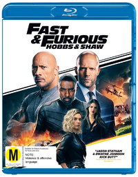 Fast & Furious Presents: Hobbs And Shaw on Blu-ray