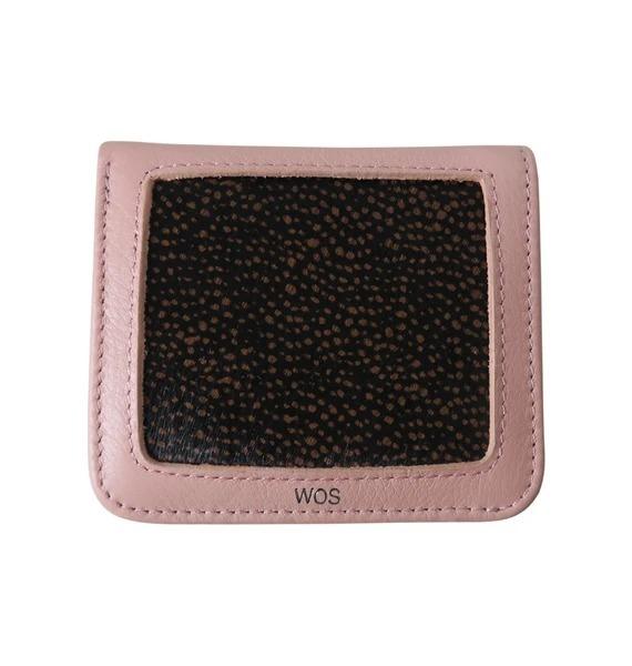Wos: Muddy Wallet - Pink/Brown