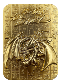 Yu-Gi-Oh: Metal God Card (24K Gold Plated) - Slifer the Sky Dragon image