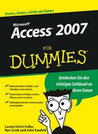 Access 2007 Fur Dummies by John Kaufeld image