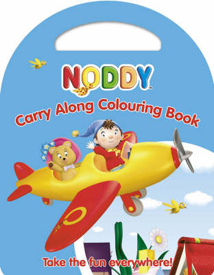 Noddy Carry Along Colouring Book by Enid Blyton image