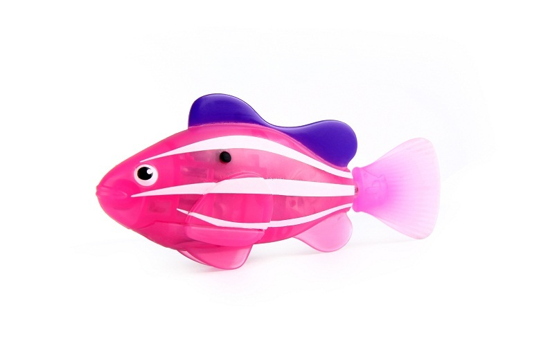Zuru robo fish pink clown fish toy at mighty ape for Zuru robo fish