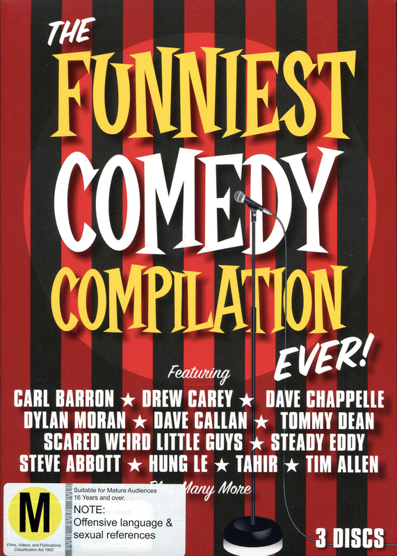 Funniest Comedy Compilation Ever! (3 Disc Set) on DVD