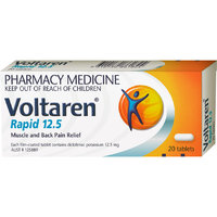 Voltaren Rapid Tablets 12.5mg (20pk)