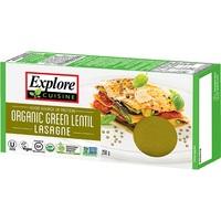 Explore Cuisine Green Lentil Lasagne (250g)