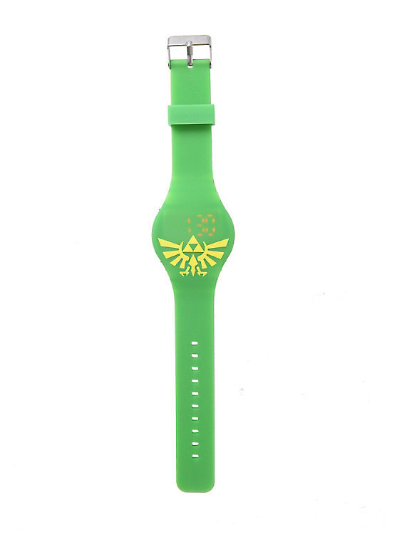 Legend Of Zelda Triforce Symbol Led Watch Boys At Mighty Ape Nz