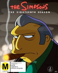 Simpsons - Season 18 (4 Disc Set) on DVD