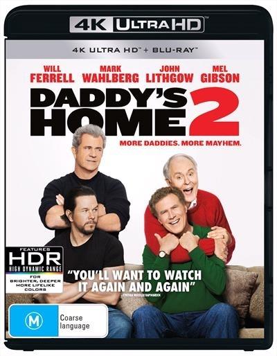Daddy's Home 2 on UHD Blu-ray