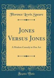 Jones Versus Jones by Florence Lewis Speare image