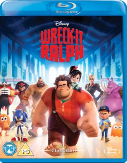 Wreck-it Ralph on Blu-ray
