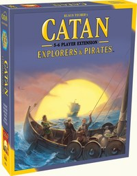 Catan: Explorers & Pirates 5-6 Player Extension