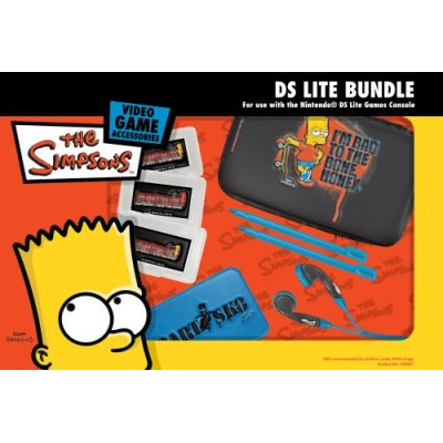 The Simpsons Officially Licensed DS Lite Bundle - Bart for Nintendo DS image
