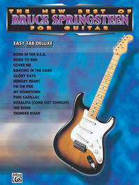 New Best of Bruce Springsteen for Guitar by Bruce Springsteen