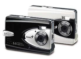 Genius Digital Camera GShot 3.3MP Black D613