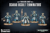 Warhammer 40,000 Thousand Sons Scarab Occult Terminators