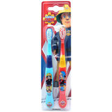 Fireman Sam Toothbrushes - Twin Pack