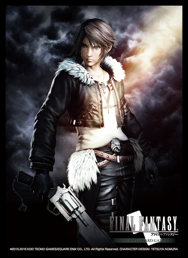 Final Fantasy TCG: Card Sleeve - Squall(60) image