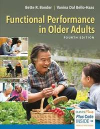 Functional Performance Older Adults 4e by Bonder