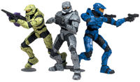 Halo Heroic Collection Action Figures Lone Wolves 1 (pack of 3) image