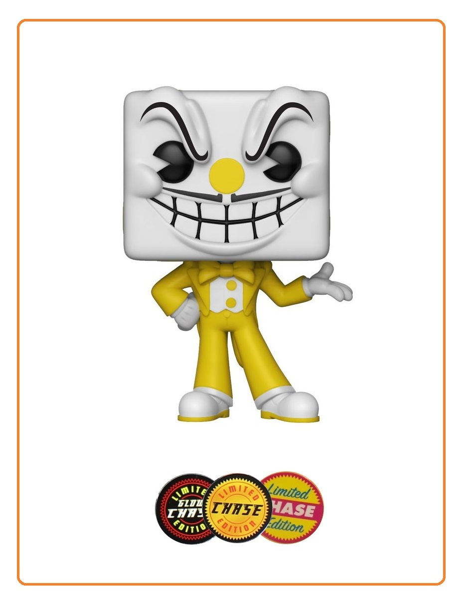 King Dice Pop Vinyl Figure At Mighty Ape Nz Bott Funko Cuphead The Devil With A Chance For Chase Version