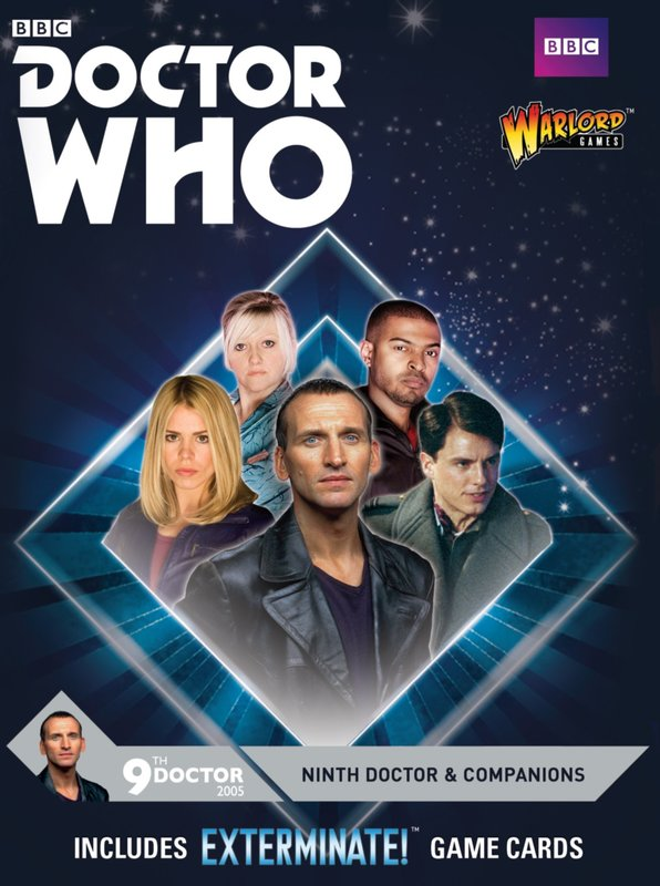 Doctor Who Ninth Doctor & Companions
