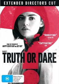 Blumhouse's Truth Or Dare on DVD