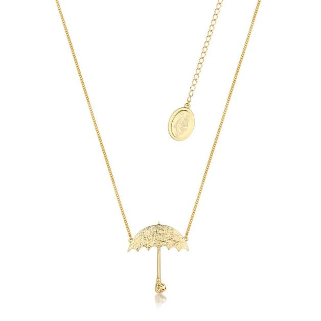 Couture Kingdom: Disney - Mary Poppins Umbrella Necklace (Yellow Gold)