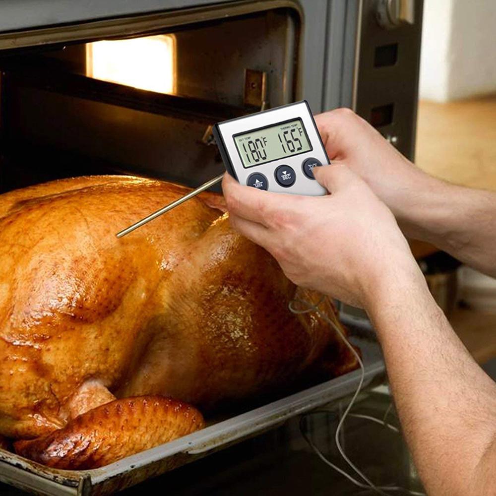 Ape Basics: Digital Oven Meat Thermometer & Timer image