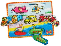 Fun Factory: Vehicles Puzzle With Knobs