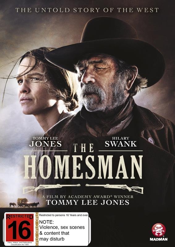 The Homesman on DVD