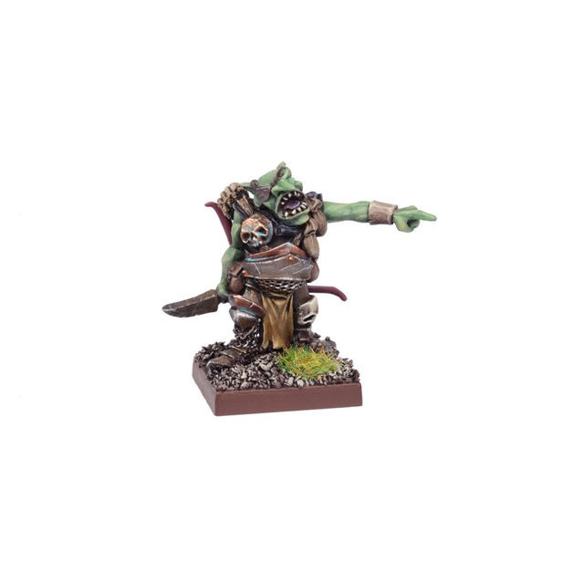 Kings of War Ogre Red Goblin Biggit