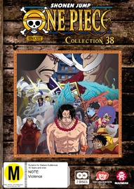 One Piece (uncut) Collection 38 (Episodes 457 - 468) DVD