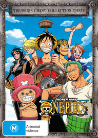 One Piece (Uncut) Treasure Chest - Collection 3 on DVD image