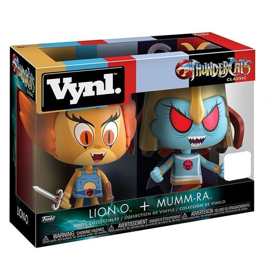 Lion-O + Mumm-Ra - Vynl. Figure 2-Pack image