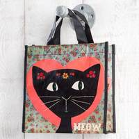 Natural Life: Recycled Gift Bag - Meow (Medium)