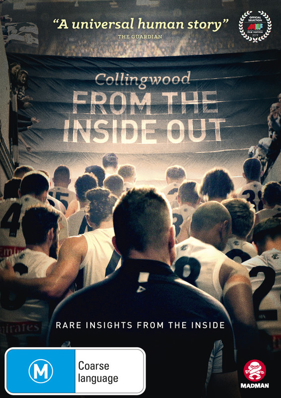 Collingwood: From The Inside Out on DVD