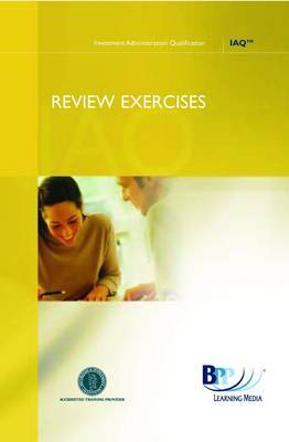 IAQ Technical - Private Client Admin: Review Exercises by BPP Learning Media image