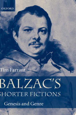 Balzac's Shorter Fictions by Tim Farrant image