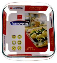 Bormioli Rocco Fornoverre 1.8L Square Baker Dish