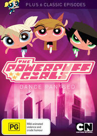 The Powerpuff Girls - Dance Pantsed And More! on DVD