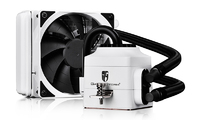 Deepcool Gamer Storm Captain 120EX AIO Liquid Cooling - White